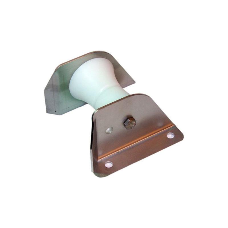 Brytrulleför att leda ankarbandet i olika riktningar.